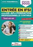 Entrée en IFSI pour AS-AP et formation professionnelle continue (FPC) Tout-en-un - Fil d'actualité offert - Sélection 2022 (2021)
