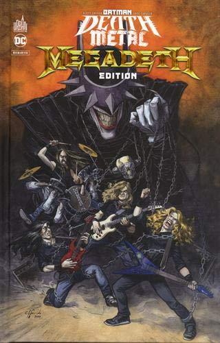 Batman Death Metal #1 Megadeth Edition , tome 1 / Edition spéciale, Limitée (Couverture Megadeth)