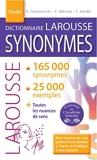 Dictionnaire LAROUSSE des SYNONYMES poche