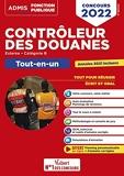 Concours Contrôleur des douanes - Catégorie B - Tout-en-un Branches opérations commerciales, surveillance et administration générale - DGDDI - Concours 2022 (2021)