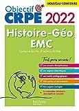 Objectif CRPE 2022 - Histoire-Géographie-EMC - épreuve écrite d'admissibilité