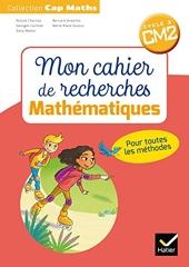 CAP Maths CM2 Éd.2018 - Mon cahier de recherches de Roland Charnay