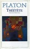 Théétète - Traduction, introduction et notes par Michel Narcy - GF Flammarion - 01/01/1994