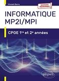 Informatique MP2I/MPI - CPGE 1re et 2e années