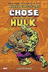 Marvel Two-in-one - L'intégrale 1974 (T01) de Steve Gerber