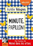 Minute, papillon ! Livre audio 1 CD MP3 - Audiolib - 14/03/2018
