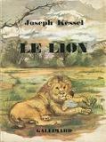 Le lion - Illustrations de Léone Plard - Nrf - Gallimard