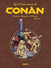 Les Chroniques De Conan T17 1984 (I) de Fleisher+Kane+Buscema