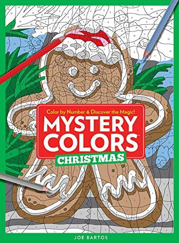 Mystery Colors - Christmas: Color By Number & Discover the Magic