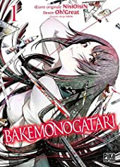 Bakemonogatari - Tome 1 de NisiOisiN