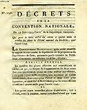 DECRETS DE LA CONVENTION NATIONALE, N° 813, RELATIF AUX BIENS FORMANT LA DOTATION DES HOPITAUX ET MAISONS DE CHARITE