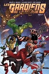 Les Gardiens de la Galaxie Marvel now - Tome 05 de Brian M. Bendis