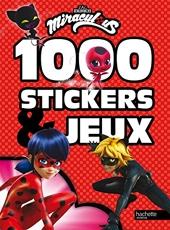 Miraculous - 1000 Stickers Et Jeux