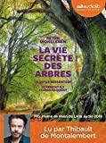 La Vie secrète des arbres - Livre audio 1CD MP3 - Audiolib - 29/11/2017