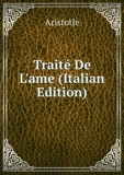 Traité De L'ame (Italian Edition) - Book on Demand