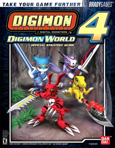 Digimon World? 4 Official Strategy Guide