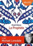 Le prophète - Audio livre 1 CD audio - Audiolib - 01/12/2010