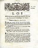 LOI, N° 1616, RELATIVE AU PAIEMENT DS SOMMES EXIGIBLES, DUES PAR LES COMMUNAUTES ECCLESIASTIQUES OU LAIQUES