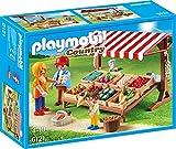 Playmobil 6121 Marchand avec Stand de Légumes