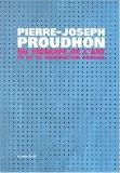 Du principe de l'art et de sa destination sociale de Pierre-Joseph Proudhon (1 janvier 2002) Broché