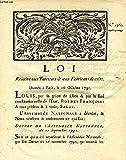 LOI, N° 1360, RELATIVE AUX TANNEURS & AUX FABRICANTS DE CUIRS