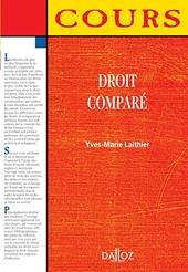 Droit comparé - 1ère édition - Cours d'Yves-Marie Laithier