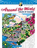 Creative Haven Around the World Color by Number Coloring Book
