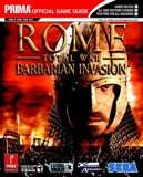 Rome - Total War Barbarian Invasion - The Official Strategy Guide (Prima Official Game Guides) by Mark Cohen (30-Sep-2005) Paperback - Prima Games (30 Sept. 2005) - 30/09/2005