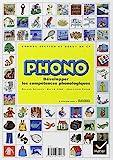 Phono Grande section maternelle et début du CP - Développer les compétences phonologiques by Sylvie Cèbe;Jean-Louis Paour(2004-11-23) - Hatier - 01/01/2004