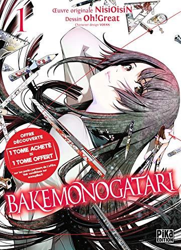 Bakemonogatari Pack Découverte T01 et T02