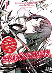 Bakemonogatari Pack Découverte T01 et T02 de NisiOisiN