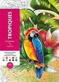 Coloriages mystères Tropiques - Coloriez les chiffres et les lettres, et découvrez l'image !