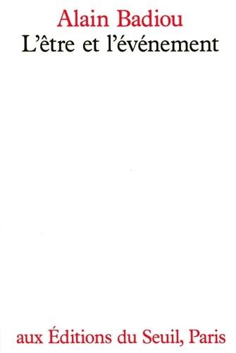 L'être et l'événement - Format ePub - 9782021157413 - 34,99 €