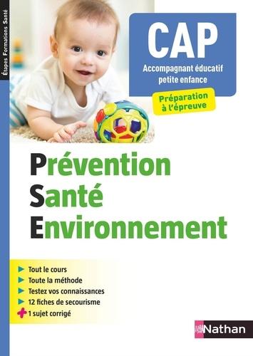 Prévention santé environnement CAP Accompagnant éducatif petite enfance - 9782098127395 - 6,99 €