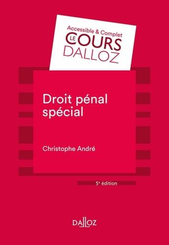 Droit pénal spécial - Format ePub - 9782247194049 - 21,99 €