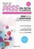 Tout le PASS en QCM et exercices 2021-2022 - Format PDF - 9782100831432 - 28,99 €