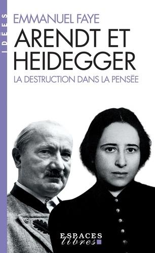 Arendt et Heidegger - Format ePub - 9782226421135 - 14,99 €
