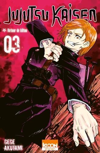 Jujutsu Kaisen Tome 3 - Retour de bâton - 9791032707203 - 4,99 €