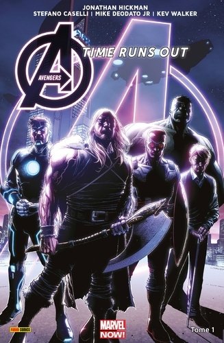 Avengers Time Runs Out (2013) T01 - 9782809461756 - 9,99 €