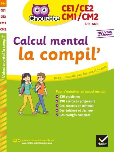 Calcul mental du CE1 au CM2 - Format PDF - 9782401072954 - 5,99 €