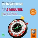 Convaincre en moins de 2 minutes - Format Téléchargement Audio - 9782356412966 - 16,50 €