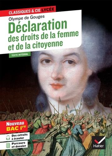 Déclaration des droits de la femme et de la citoyenne (Bac 2022, 1re générale & 1re techno) - Format PDF - 9782401080522 - 2,49 €