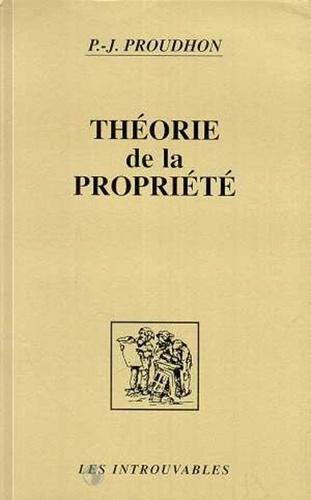 Théorie de la propriété - Format PDF - 9782296342699 - 17,99 €