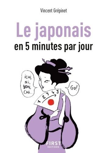 Le japonais en 5 minutes par jour - Format ePub - 9782412046951 - 1,99 €