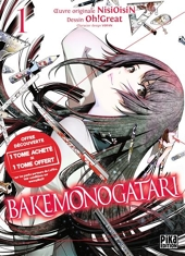 Bakemonogatari - Coffret 2 Volumes, Tome 1 et Tome 2 d'Oh ! Great