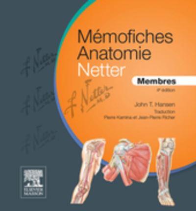 Mémofiches Anatomie Netter - Membres - 9782294741722 - 15,99 €