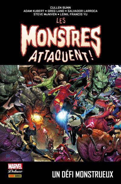 Les monstres attaquent ! : Un défi monstrueux - 9782809484229 - 21,99 €