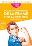 Déclaration des droits de la femme et de la citoyenne (BAC 2022) - 9782080261465 - 2,49 €