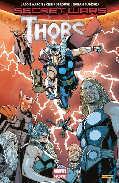 Secret Wars - Thors - 9782809469110 - 9,99 €