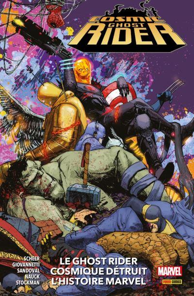Cosmic Ghost Rider (2019) : Le Ghost Rider Cosmique détruit l'histoire Marvel - 9782809488449 - 12,99 €